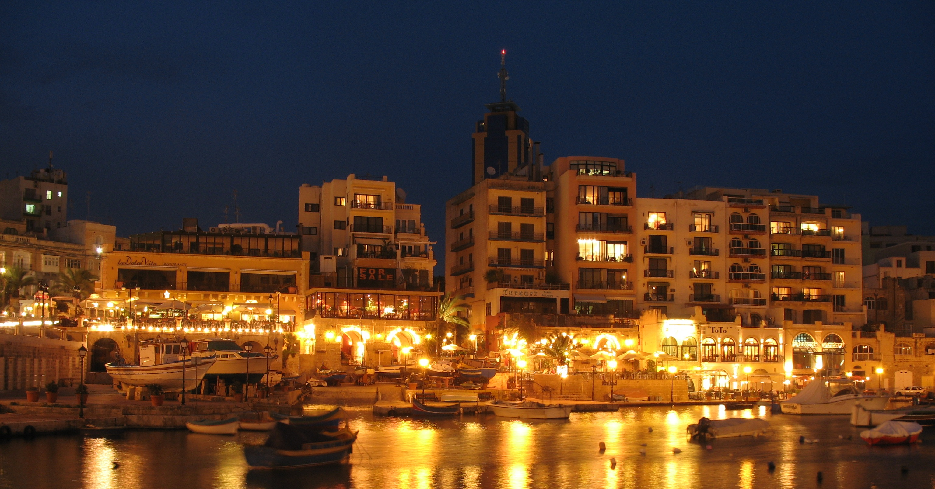 St. Julians at Night