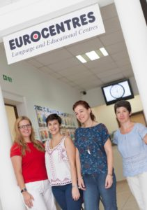 Eurocentres friendly staff.